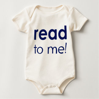 Read To Me Baby Bodysuit