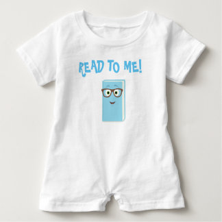 Read to Me! Romper Baby Bodysuit