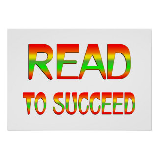 Read to Succeed Poster