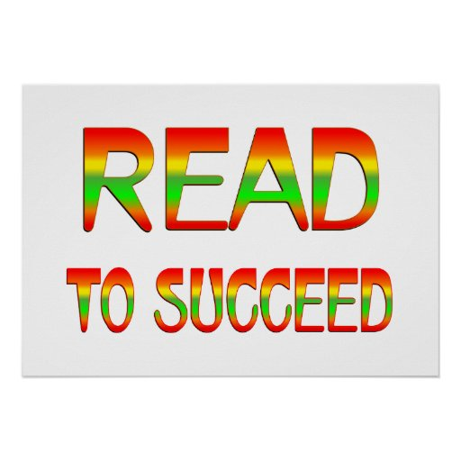 Read to Succeed Posters