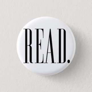 Read (Ver 1) 3 Cm Round Badge