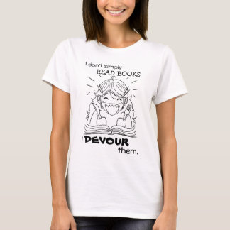 Reader Girl Eats Shirt