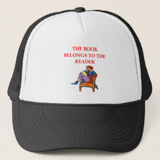 READER TRUCKER HAT