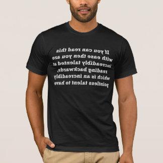 Reading Backwards T-Shirt