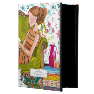 Reading Books Girl & Cat lover | iPad Air 2 Case
