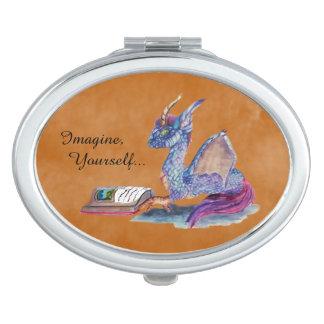 Reading Dragon Makeup Mirror