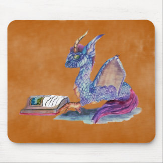 Reading Dragon Mouse Pad