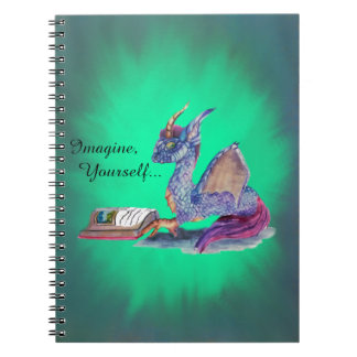 Reading Dragon Spiral Note Books