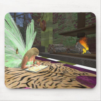 Reading Fairytales Mousepad