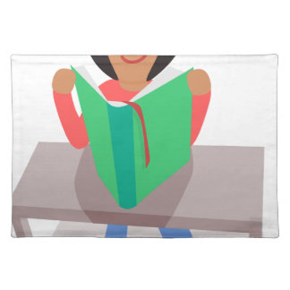 Reading Girl Placemat