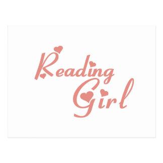 Reading Girl tee shirts Postcard