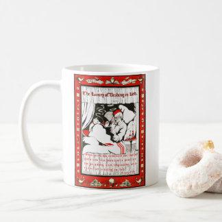 Reading in Bed 1905 Coffee Mug