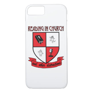 Reading in Church Coffee iPhone Cover