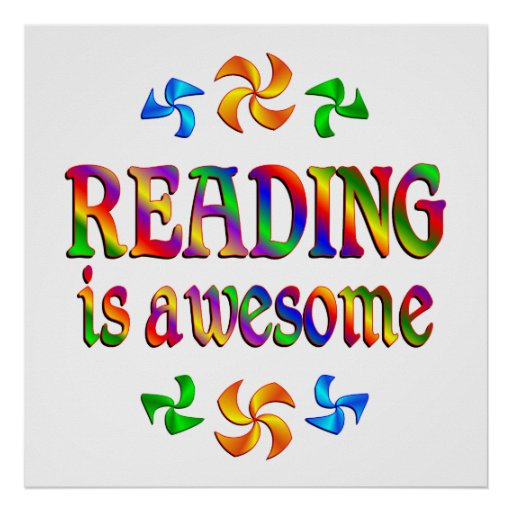 Reading is Awesome Posters