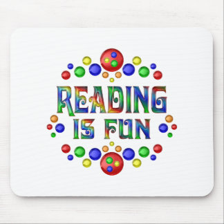 Reading is Fun Mouse Pad