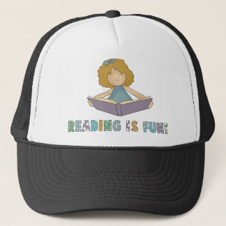 Reading Is Fun! Trucker Hat