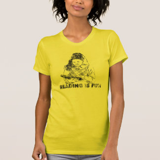 Reading is Fun Vintage 80 s Look T-shirt