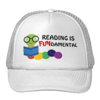 Reading is fundamental - hat