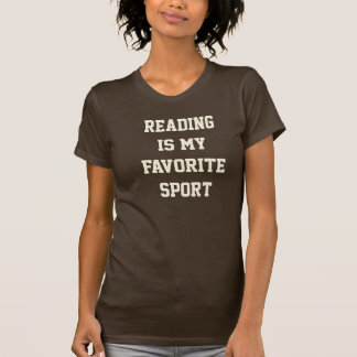 Reading is my Favourite Sport Tee