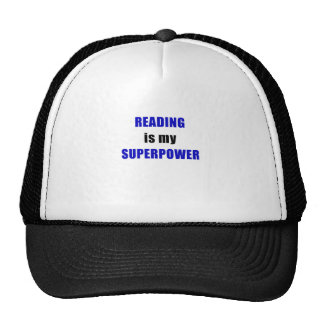 Reading is my Superpower Cap