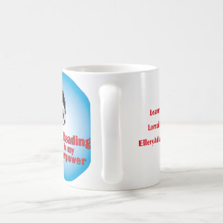 Reading is My Superpower! Coffee Mug