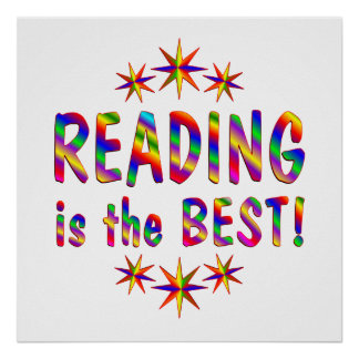Reading is the Best Poster