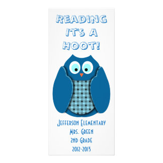 Reading It's A Hoot Rack Card