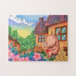 Reading Jigsaw Puzzle
