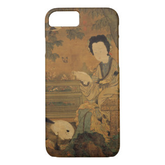 Reading Lady (Chinese Painting) iPhone 7 Case