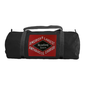 Reading Lines America's Largest Anthracite Carrier Gym Bag