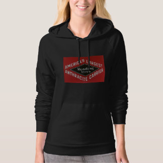 Reading Lines America's Largest Anthracite Carrier Hoodie