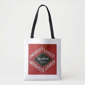 Reading Lines America's Largest Anthracite Carrier Tote Bag