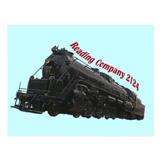Reading Locomotive Company 2124 Postcard