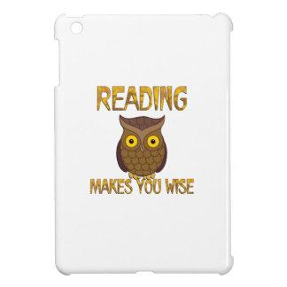Reading Makes You Wise iPad Mini Covers