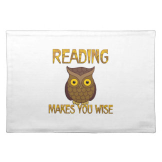 Reading Makes You Wise Placemat