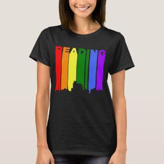 Reading Pennsylvania Gay Pride Rainbow Skyline T-Shirt