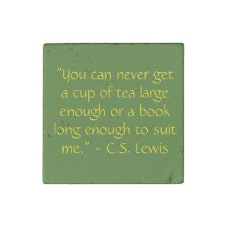 Reading Quote Magnet C.S. Lewis
