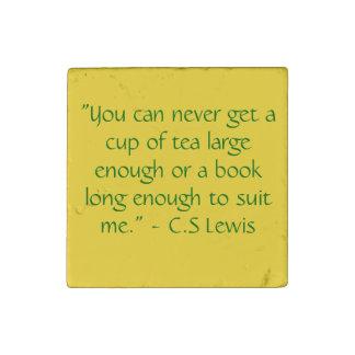 Reading Quotes Magnet C.S. Lewis