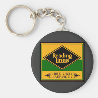 Reading Railroad,Bee Line Service Key Chains