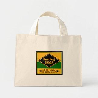 Reading Railroad,Bee Line Service Mini Tote Bag