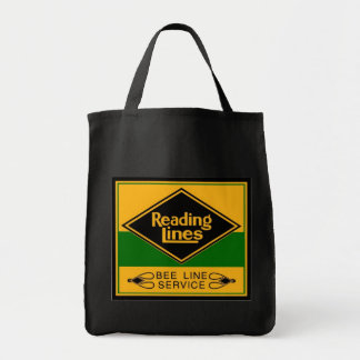 Reading Railroad,Bee Line Service Grocery Tote Bag