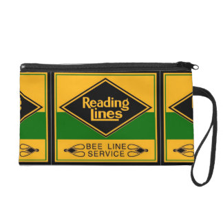 Reading Railroad,Bee Line Service Wristlet