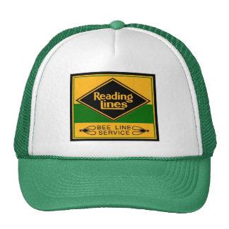 Reading Railroad Lines, Bee Line Service Cap