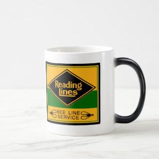 Reading Railroad Lines, Bee Line Service Mugs