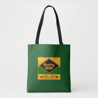 Reading Railroad Lines, Bee Line Service Tote Bag