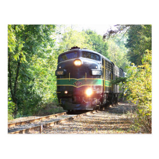 Reading Railroad Lines FP7 Diesel Locomotive 902 Postcard