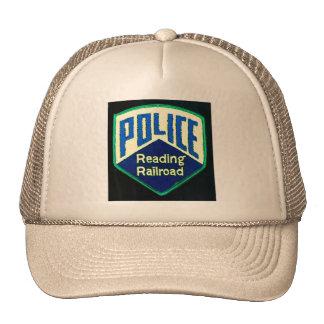 Reading Railroad Train Police Patch Cap