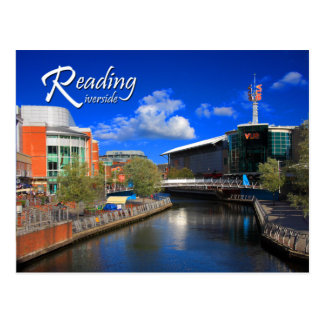 Reading Riverside Postcard