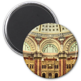 Reading room Library of Congress Washington Magnet