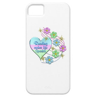 Reading Sparkles Barely There iPhone 5 Case